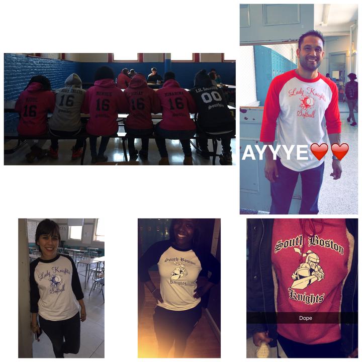 South Boston Knights  T-Shirt Photo