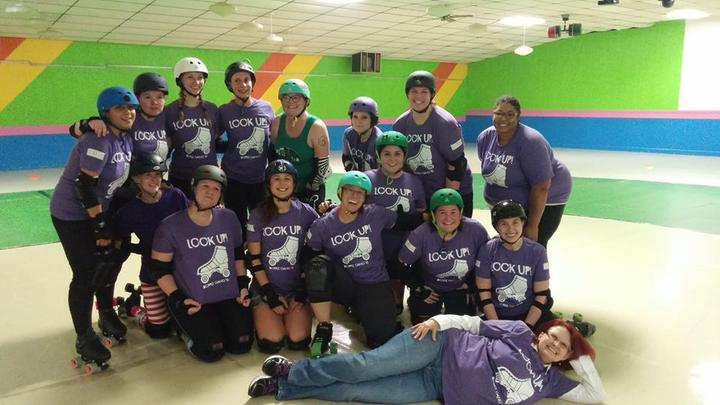 Twin City Derby Girls Doppel Gang 2015 T-Shirt Photo