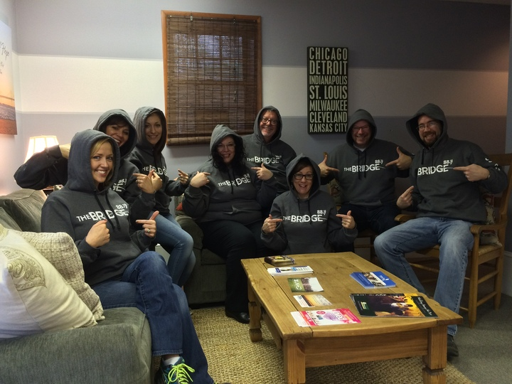 We Love Our Hoodies! T-Shirt Photo
