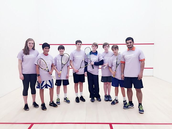 Squash Alzheimer's Fundraiser    First Tournament! T-Shirt Photo