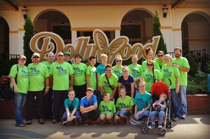 Youth Trip To Dollywood T-Shirt Photo