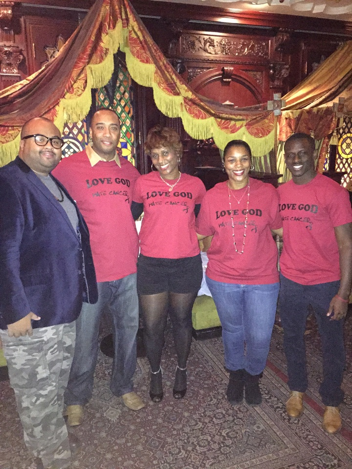 Hate Cancer Inc Event At The House Of Blues T-Shirt Photo