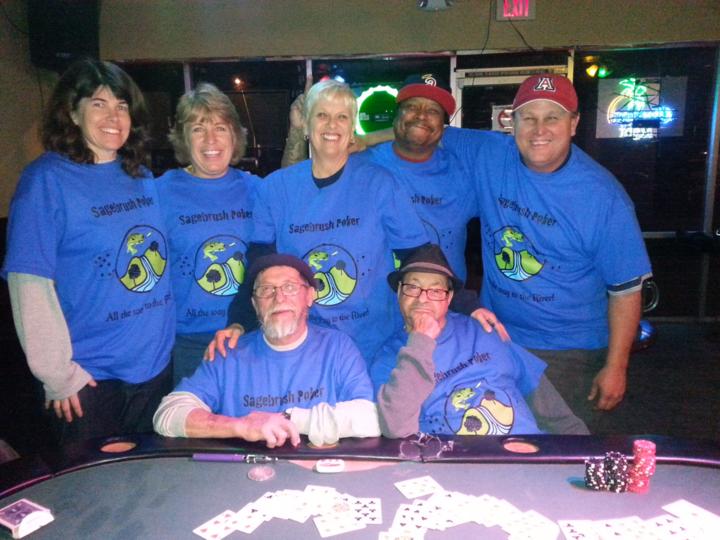 Sagebrush Poker T-Shirt Photo