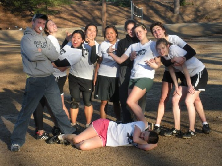 Joint Summit Ultimate Frisbee Tournament Team Picture T-Shirt Photo