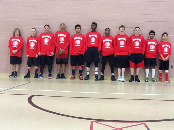 Jamesburg Basketball T-Shirt Photo