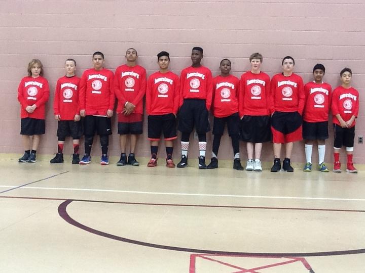 Jamesburg Basketball T-Shirt Photo