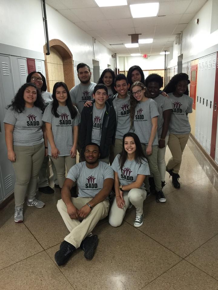 Students Against Destructive Decisions T-Shirt Photo