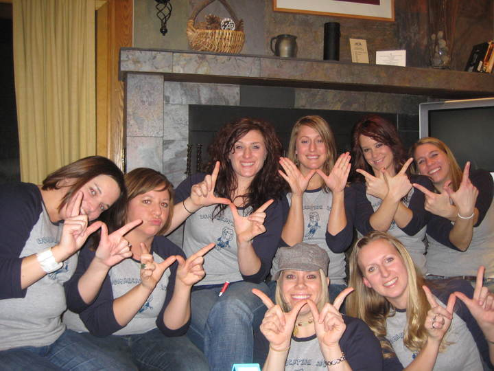 Womancation 2009 At Lutsen, Mn! T-Shirt Photo