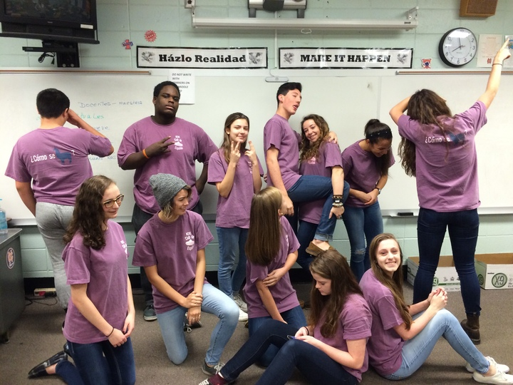 Nchs Spanish Club  T-Shirt Photo