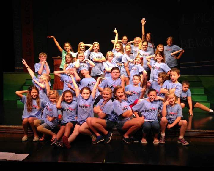 Big Bad Musical Cast Pic T-Shirt Photo