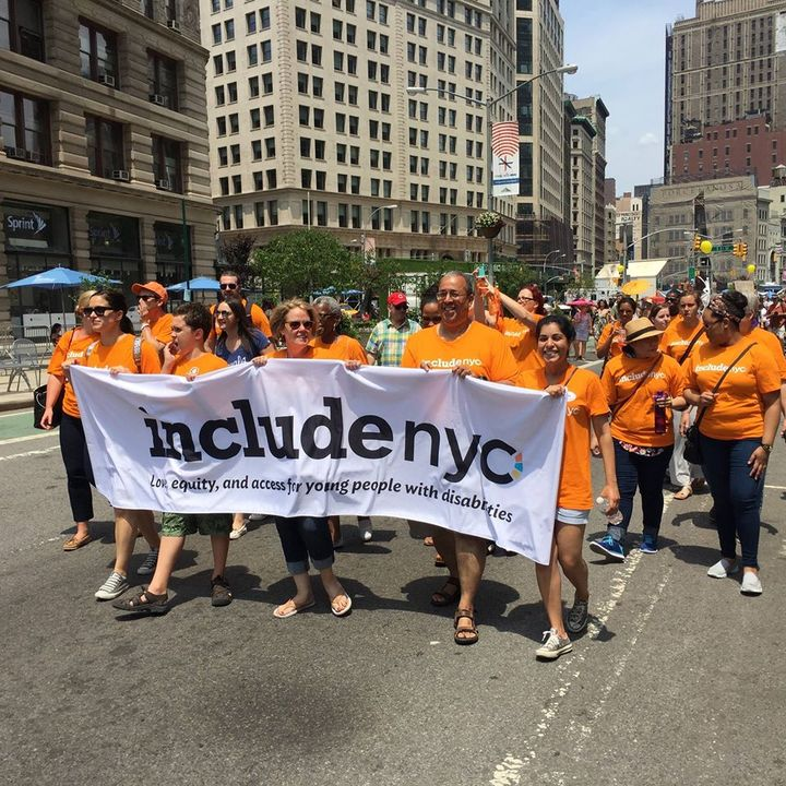 Nyc's First Disability Pride Parade  T-Shirt Photo