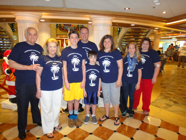 Christmas In Paradise 2015 T-Shirt Photo