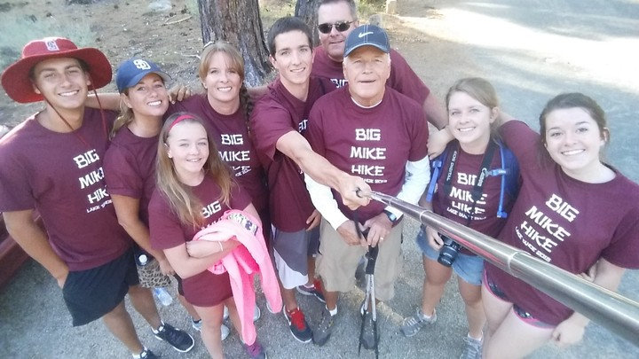 Big Mike Hike 2015 T-Shirt Photo