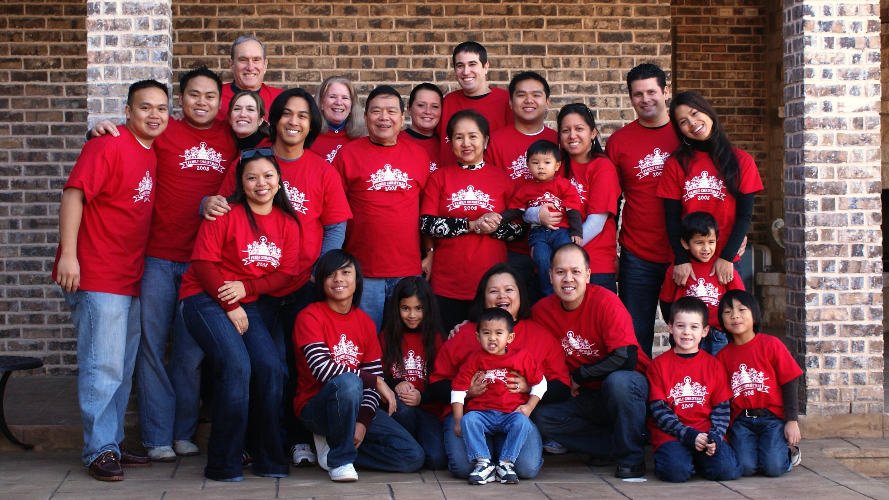 Custom T-Shirts for Family Gathering - Shirt Design Ideas
