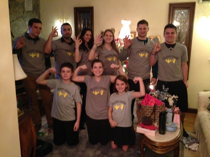 Christmas Eve At Grandma And Grandpas! T-Shirt Photo