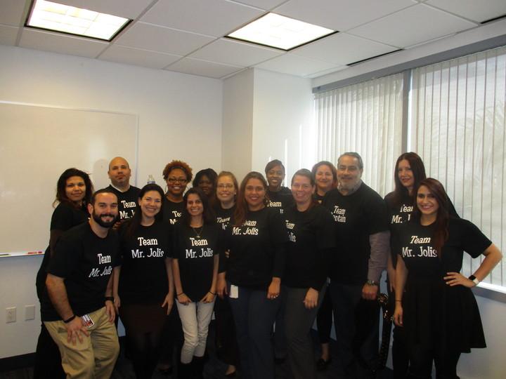 Team Mr. Jolis T-Shirt Photo