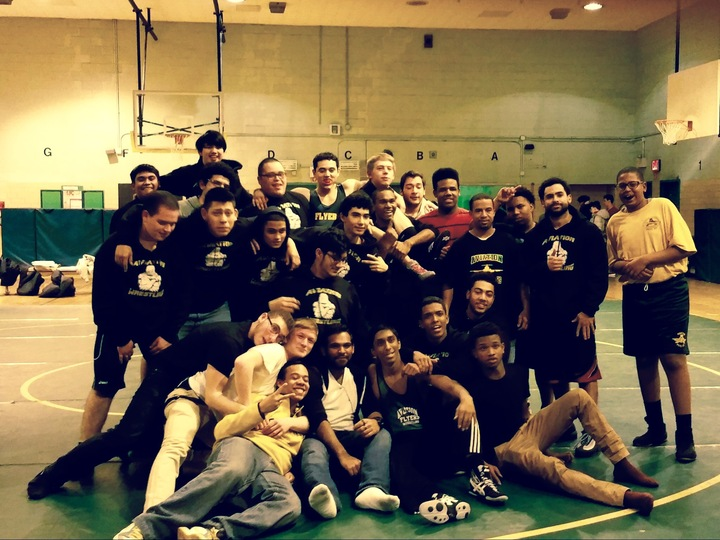 Aviation Wrestling Team T-Shirt Photo