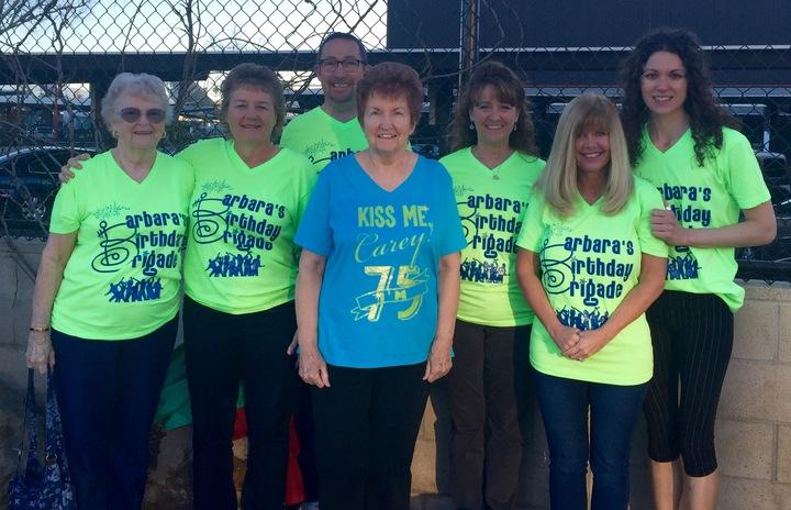 Barbara's Birthday Brigade T-Shirt Photo