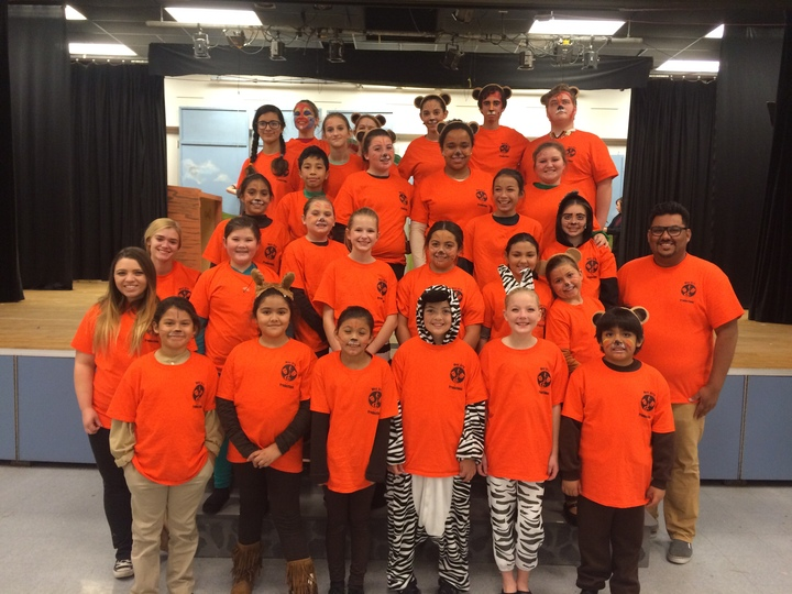 Lion King Cast T-Shirt Photo