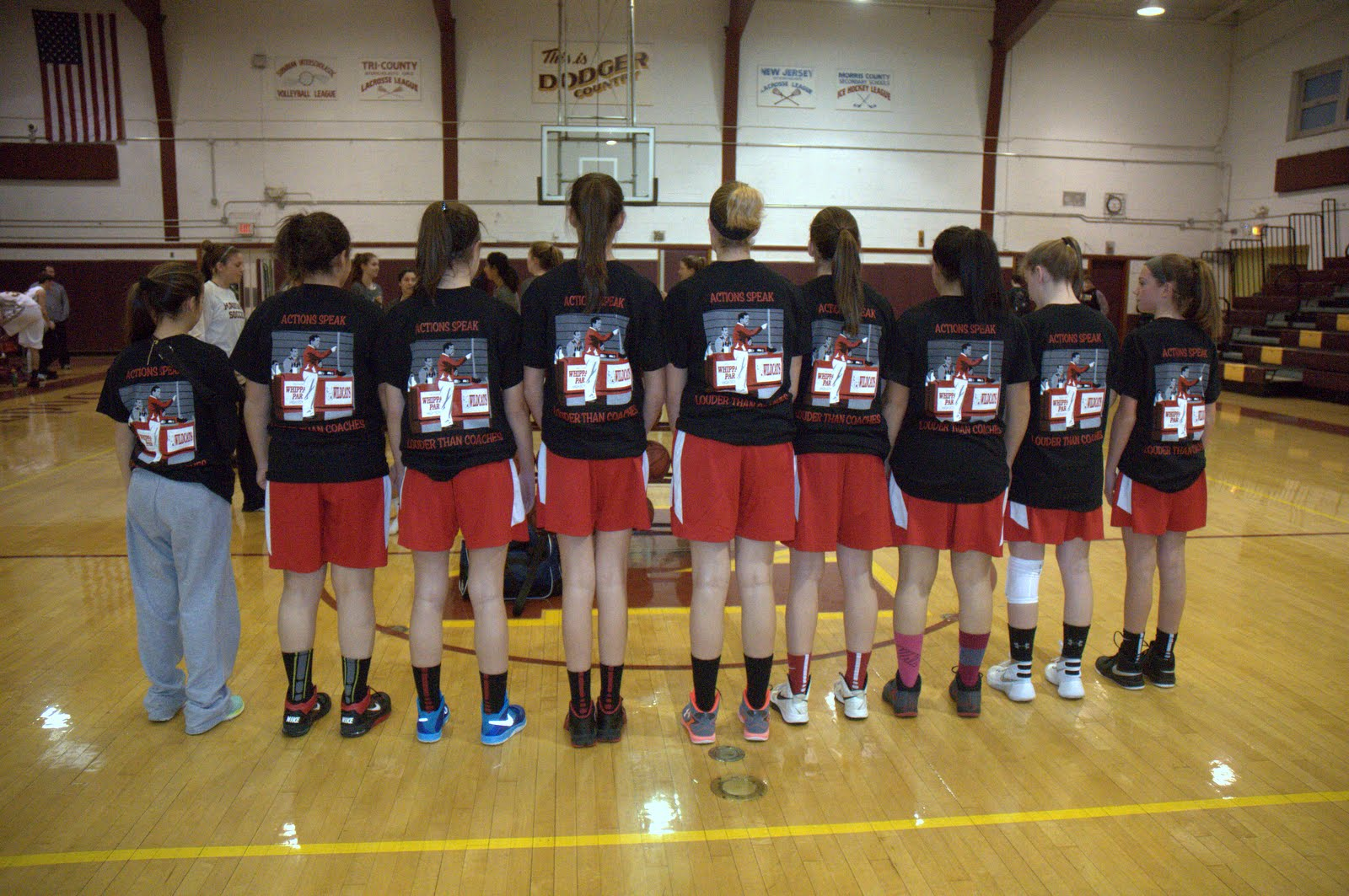 Custom T-Shirts for Whippany Park Girls Basketball Team ...