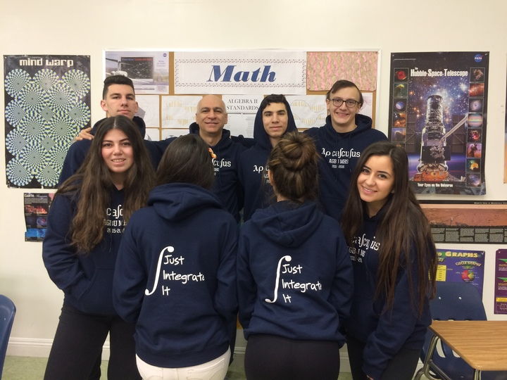 Ap Calculus Class Sweaters T-Shirt Photo