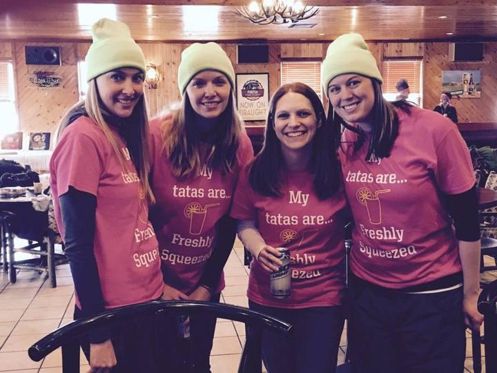 Team Boobylicious At The Tata Tourney T-Shirt Photo