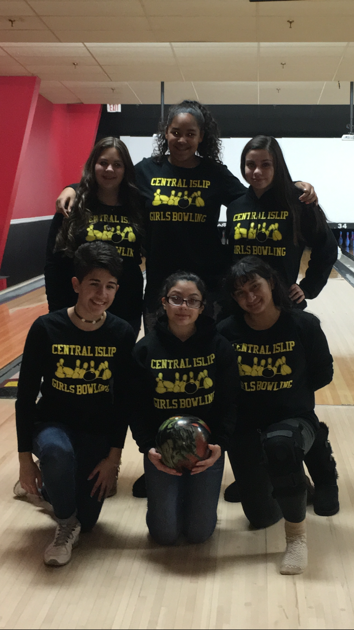 Central Islip Girls Bowling   Thanks Custom Ink! T-Shirt Photo