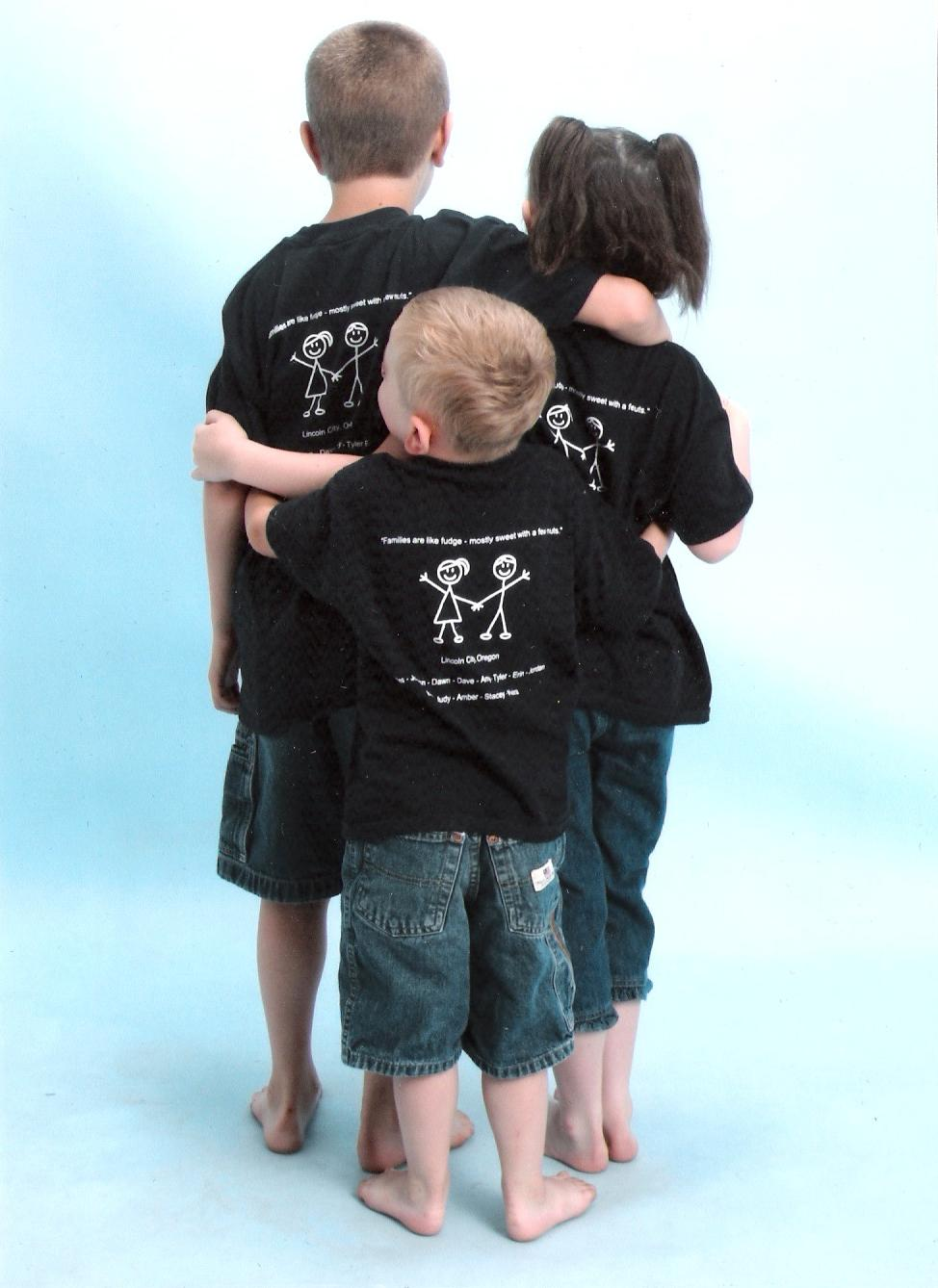 The Kids Birthday Pictures T Shirt Photo