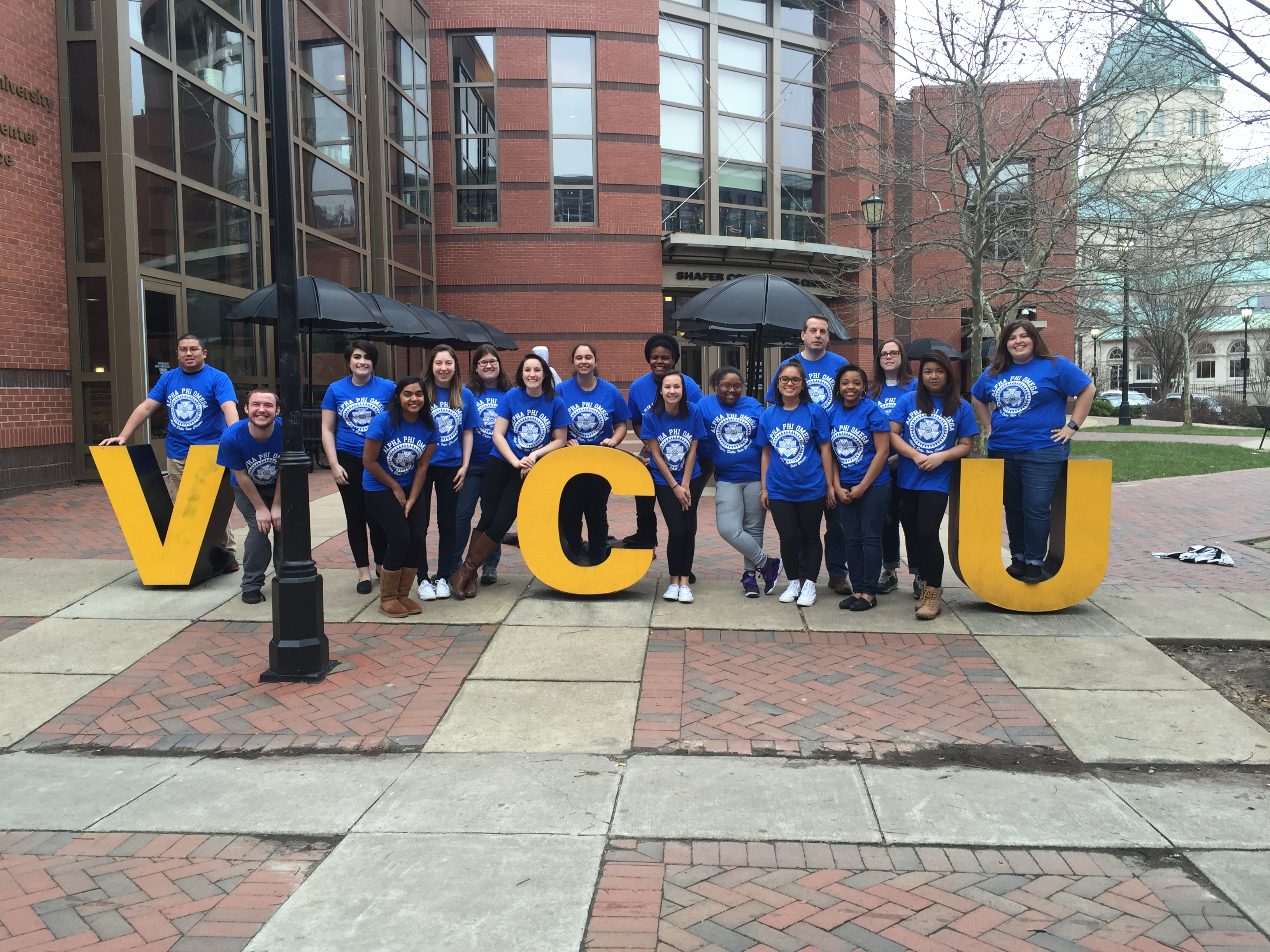 b2134e31dc Custom T-Shirts for Alpha Phi Omega At Virginia Commonwealth ...