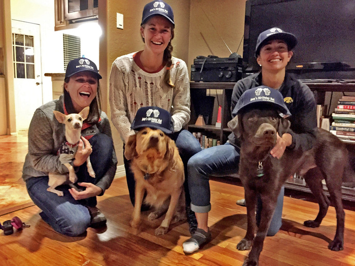 Pups Like Hats Too! T-Shirt Photo