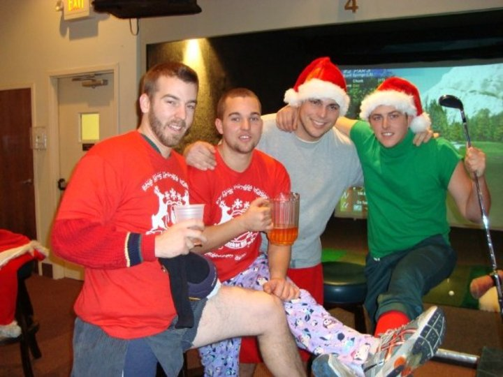 Wiz, Jamie, Dan, & Doc At The Kris Kringle Classic T-Shirt Photo