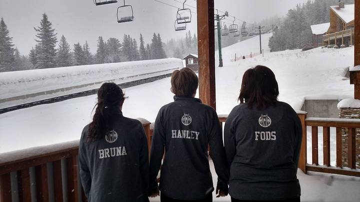 Ready To Hit The Slopes! T-Shirt Photo