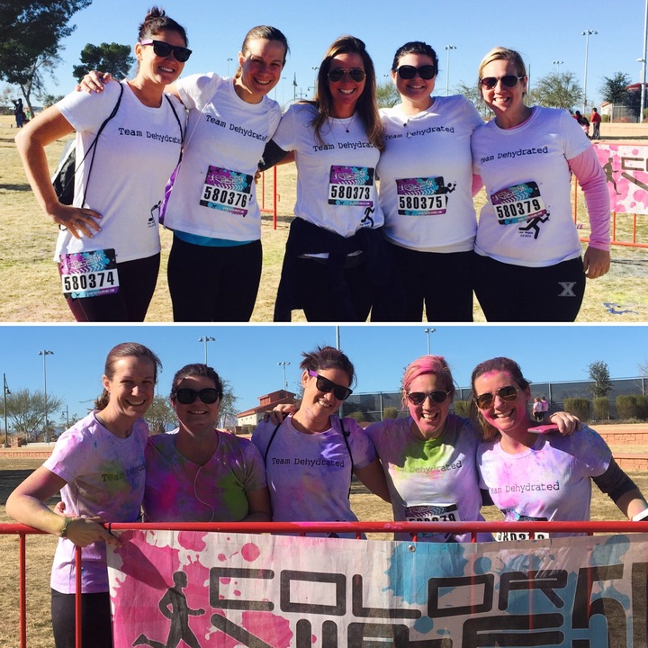 Color Run Fun T-Shirt Photo