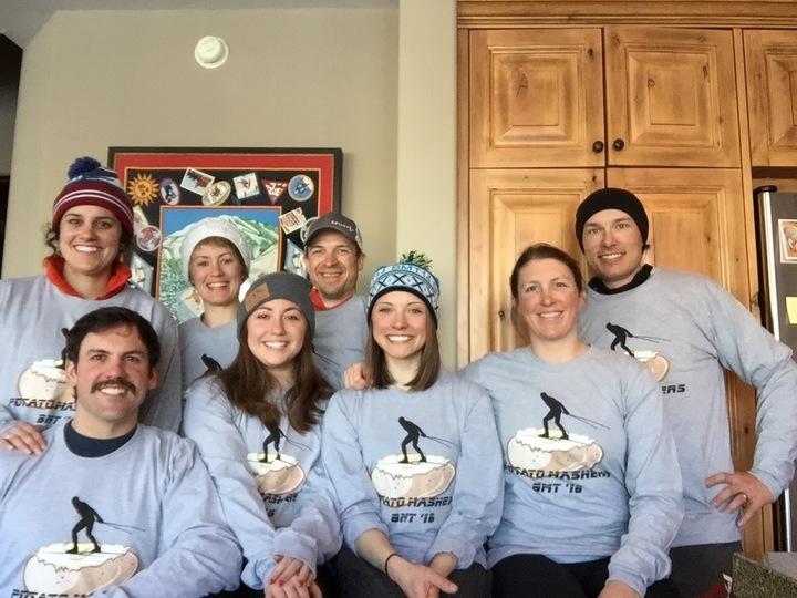 Potato Mashers Post Boulder Mountain Tour  T-Shirt Photo