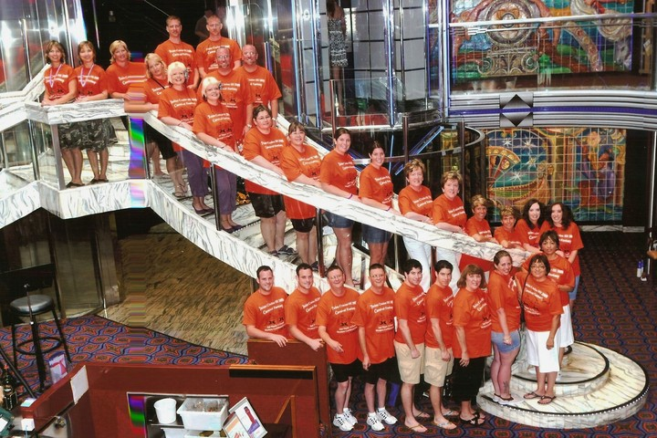 Twins Cruise Iii 2009 Third Times A Charm T-Shirt Photo