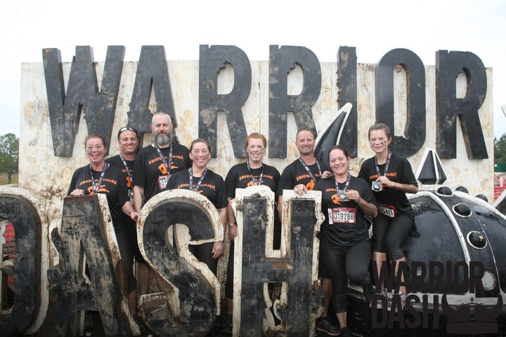 Sandbox Ninjas Warrior Dash! T-Shirt Photo