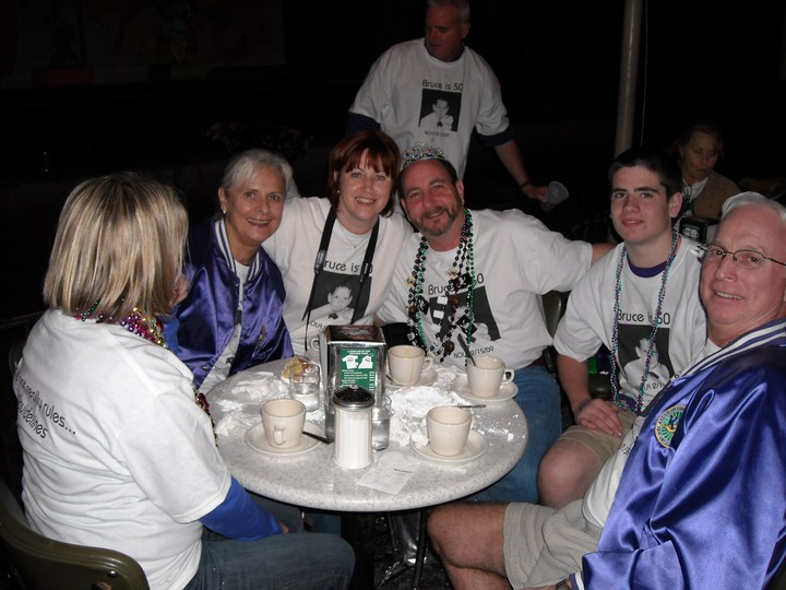 Bruce's 50th Birthday In New Orleans T-Shirt Photo