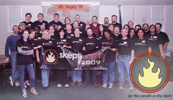 Atlanta Skepticampers 2009 T-Shirt Photo