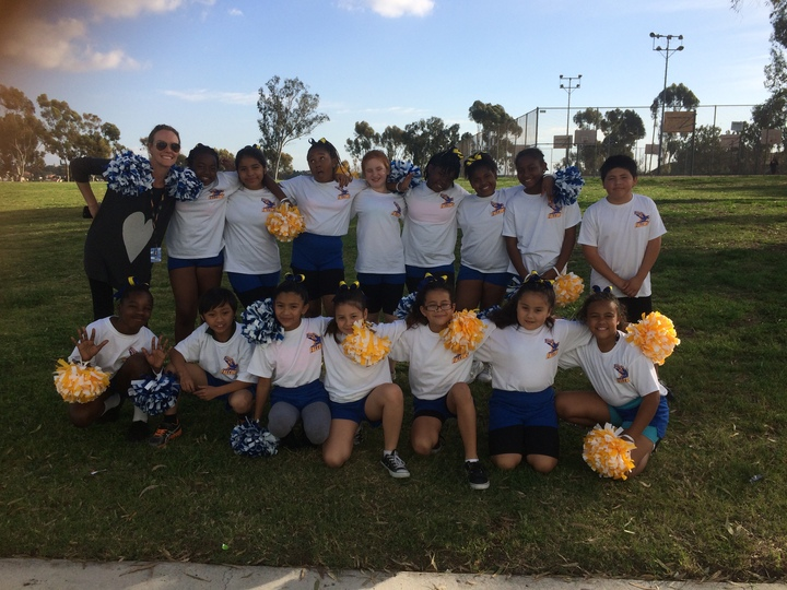 5th Grade Cheer Team! T-Shirt Photo