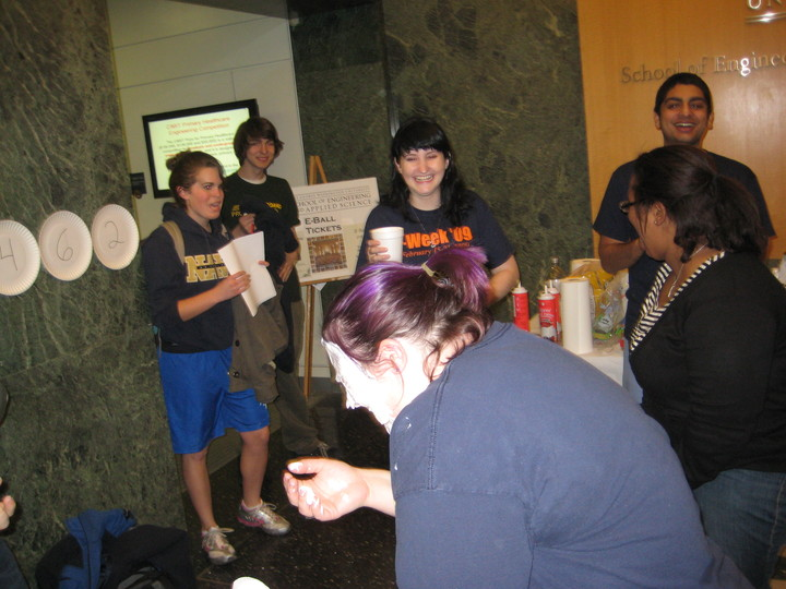 Pi Eating Contest As Just One Of The Many Great Events At Gw T-Shirt Photo