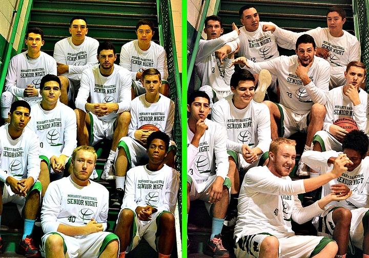 Varsity Basketball Senior Night 2016 T-Shirt Photo