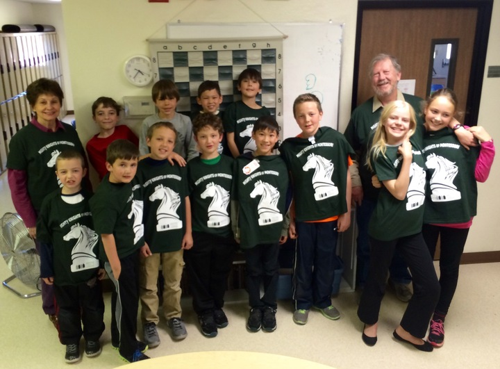 Mighty Knights Of Montessori T-Shirt Photo