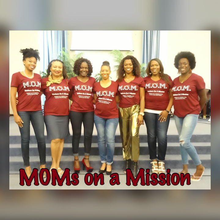 M.O.M Moms On A Mission  T-Shirt Photo