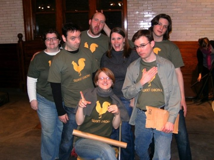 The Lost Shakespeare Play Cast & Crew T-Shirt Photo