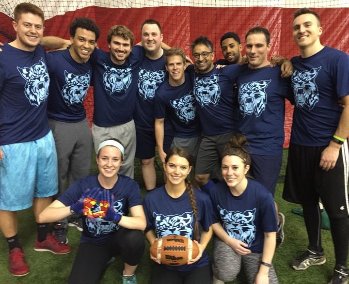 Ge Transportation Flag Football Team T-Shirt Photo