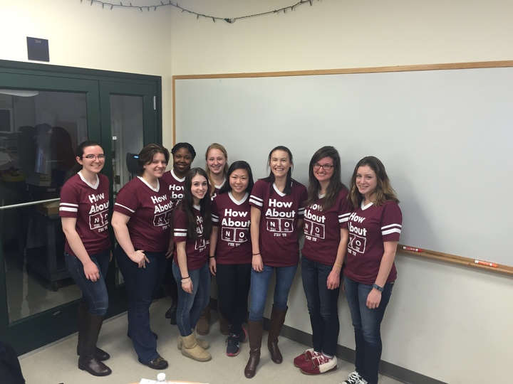 University Of Saint Joseph's Sassy Chemistry Honor Society T-Shirt Photo