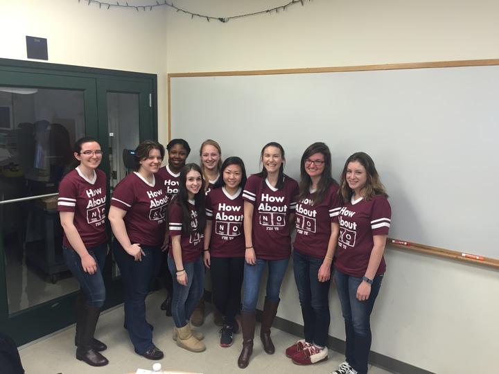 University Of Saint Joseph's Sassy Chemistry Honor Society T-Shirt Photo