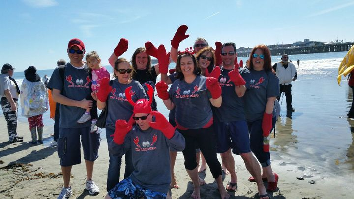 Making A Plunge For Special Olympics Santa Cruz T-Shirt Photo