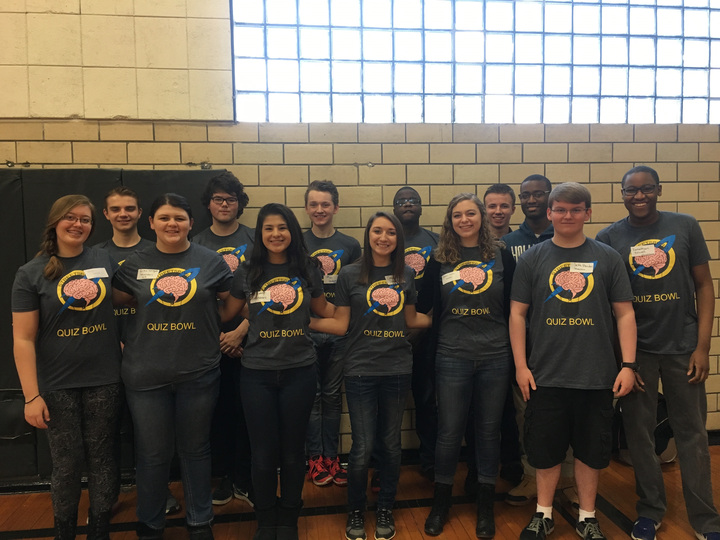 Quiz Bowl At League Tournament T-Shirt Photo