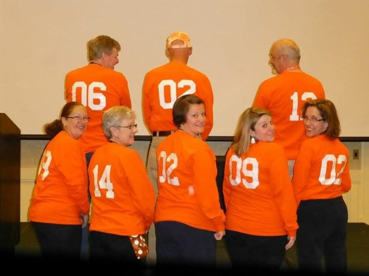 Orange Crush Crushing Ms One Step At A Time T-Shirt Photo